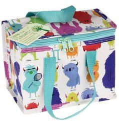 A Monsters of The World Insulated Lunch Bag