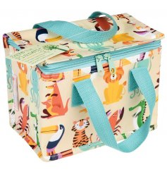 A Colourful Creatures Insulated Lunch Bag