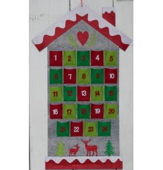 With its nordic inspired colours and added heart and reindeer decal