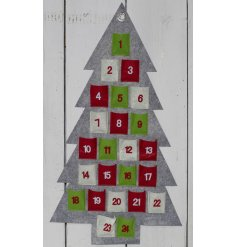 With its nordic inspired colours and tree design, this advent calendar will be a perfect way to count down to christmas