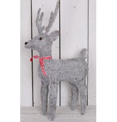 Perfectly finished with his red tied bow, this little figure will look perfect under any themed tree at christmas time