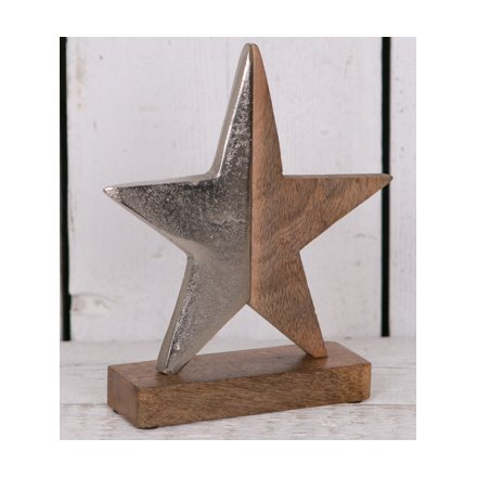 Ornamental Wooden Star - Medium