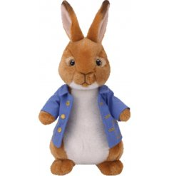 Bring to life your favorite story time tales with this snuggly and soft Peter Rabbit soft toy