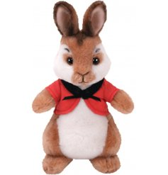 Bring to life your favorite story time tales with this snuggly and soft Flopsy Rabbit soft toy