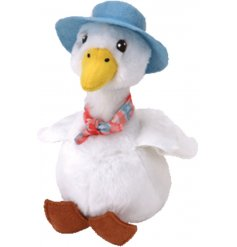 Bring to life your favorite story time tales with this snuggly and soft Jemima Puddle-Duck soft toy