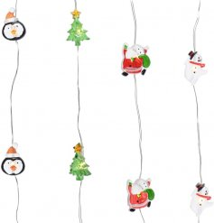 Add a fun festive feel to any home decor or bedframe at Christmas time with this jolly assortment of fairy lights
