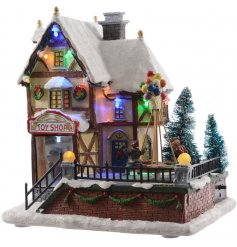 for a Tra Stand this brightly illuminating LED based building on any sideboard or windowsill during the Christmas