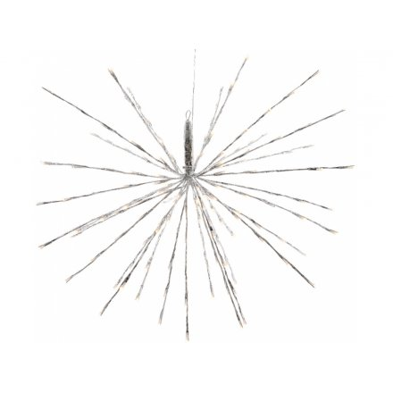 Large Spiked LED Hanging Star 70cm