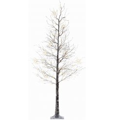 Change up your home decor this year with this beautifully finished Winter Woodland inspired twig tree