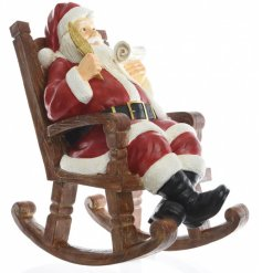 this vintage inspired Santa decoration will look perfect on any sideboard or shelf at Christmas time