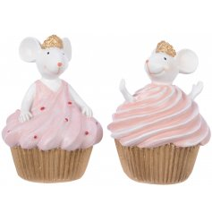 Bring a tasty touch to your home decor this festive season with these delicious looking princess mouse decorations