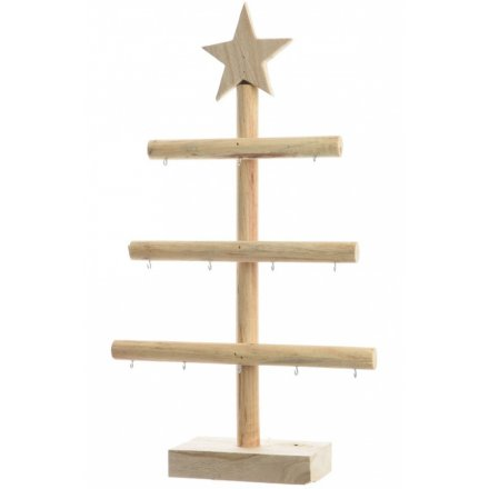 Christmas Tree Display Stand.Paulownia Wood Tree Display Stand 39407 Christmas