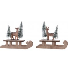 Add a sweet woodland touch to your home decor or table set up this Christmas time w