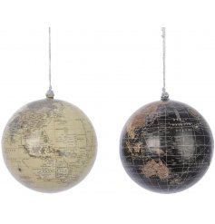 These vintage inspired hanging baubles will be sure to place perfectly in any Rustic Charm inspired tree decor this Chri