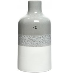 Bring a charming ontrend touch to any home space or display with this beautifully chic smooth glaze vase