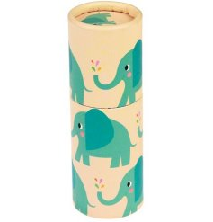 Get creative with this colourful set of pencils, perfectly packaged in an Elvis the Elephant themed tube