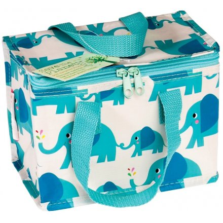 Send your little ones off to school with this sweetly designed Elvis the Elephant foil insulated lunch bag.