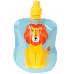 A Charlie The Lion Folding Water Bottle