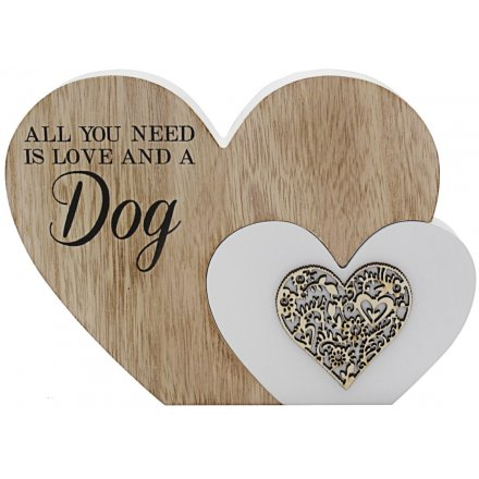 Sentiments Double Heart Block - Dogs