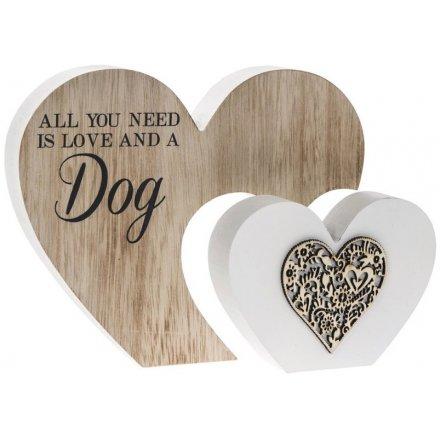 Sentiments Double Heart Block - Dogs