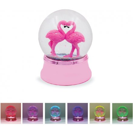 Colour Changing Flamingo Waterball