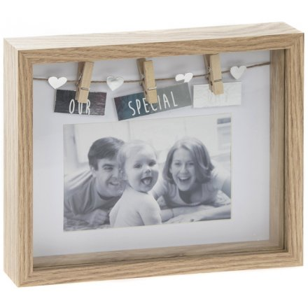 Our Special Day Box Peg Frame