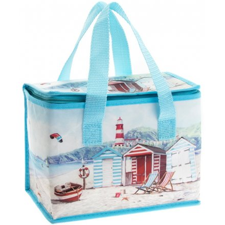 Ocean Breeze Illustrated Lunch Bag