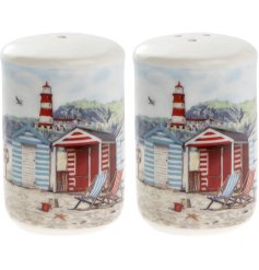 Bring a touch of the ocean to any home interior or kitchen theme with this beautifully finished 'Sandy Bay' themed kitc