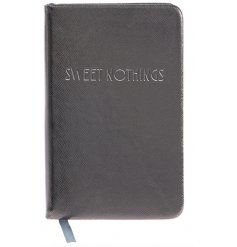 A Shine Bright Sweet Nothings A6 Pewter Notebook