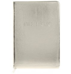 A Shine Bright Talk Is Chic A5 Notebook
