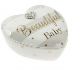 A Beautiful Baby Heart Trinket Pot