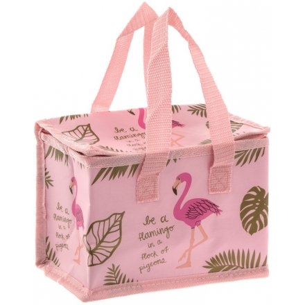 Be A Flamingo In A Flock Of Pigeons Lunch Bag
