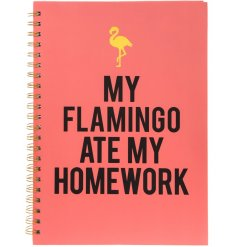 """My Flamingo Ate My Homework"" a great excuse for any of those missed assignments!"