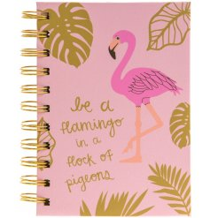 An a6 Be A Flamingo In A Flock Of Pigeons Notebook