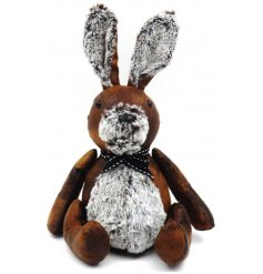 From our most favourite collection of faux leather doorstops is now this sweet sitting rabbit