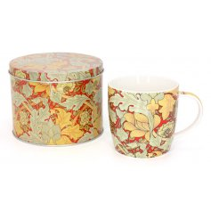 This beautifully designed floral themed mug is a great gift idea for any loved one