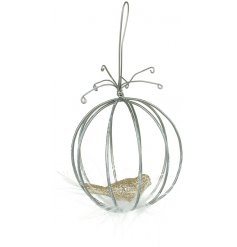 Add an elegant touch to your christmas tree this season with this beautiful hanging decoration