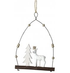 A magical and sweet themed hanging decoration, perfect for the festive season