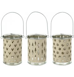 Add a cozy glow to any home space with this beautiful assortment of glass tlight holders