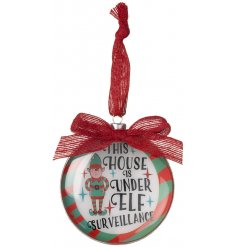 This little bauble will be sure to keep your little ones well behaved during the count down to christmas day