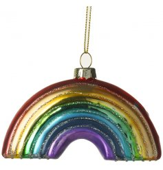 Bring a dash of magic to your christmas tree with this amazingly decorated glass bauble