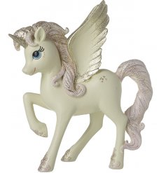Bring a magical touch to any home scene or display with this magical posed unicorn figure