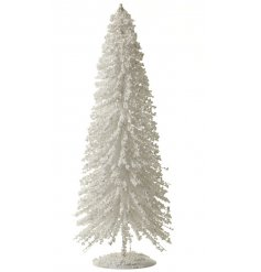 Partner up with any additional silvers, golds or whites for an frosty winter feel to your decor