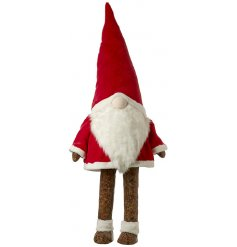 This big red dancing Santa will be sure to bring a festive groove to any space he's placed in!