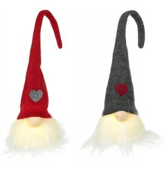 This festive assortment of little sitting gonks will be sure to light up any space of the home at Christmas time