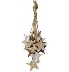 A great rustic inspired decoration perfect for any themed home decor during the festive season