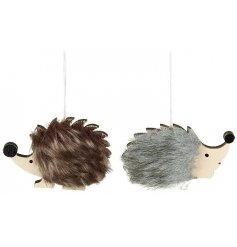 Each finished with its own brown or grey fur and little wooden snouts, these little critters will look perfect in any th
