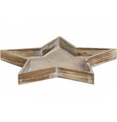A Wooden Star Tray Dec