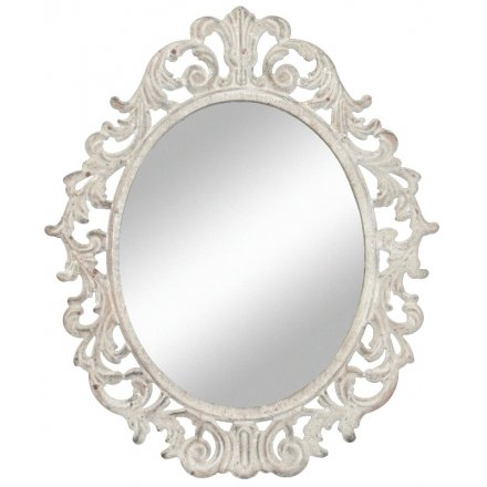 Rustic Charm Wall Mirror