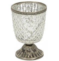 A Large Goblet Tealight Holder
